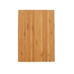 Chamfered edge bamboo cutting board