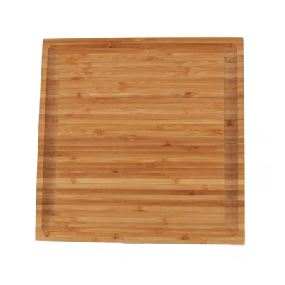 Grooved Bamboo Cutting Board Medium Size
