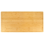 "Heavy Duty Premium Bamboo Cutting Board - 24"" x 12"" Sold in 1"" or 1.5"" Thickness"