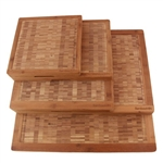Bamboo End Grain Cutting Boards