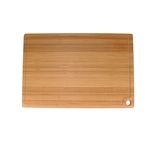 Bamboo cutting board with hang hole