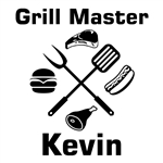 Custom Laser Engraved Bamboo Cutting Board - Grill Master