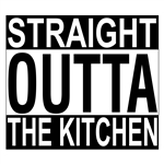 Custom Laser Engraved Bamboo Cutting Board - Straight Outta The Kitchen