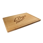 custom logo bamboo cutting board