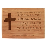 Baptism Engraved Plaque