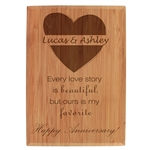 Anniversary Engraved Plaque