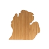 Michigan Silhouette Cutting Board