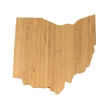 Ohio Silhouette Cutting Board