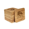 Engraved Bamboo Coaster Set - Square - UK Conservative Party - (10 Coasters/Set)