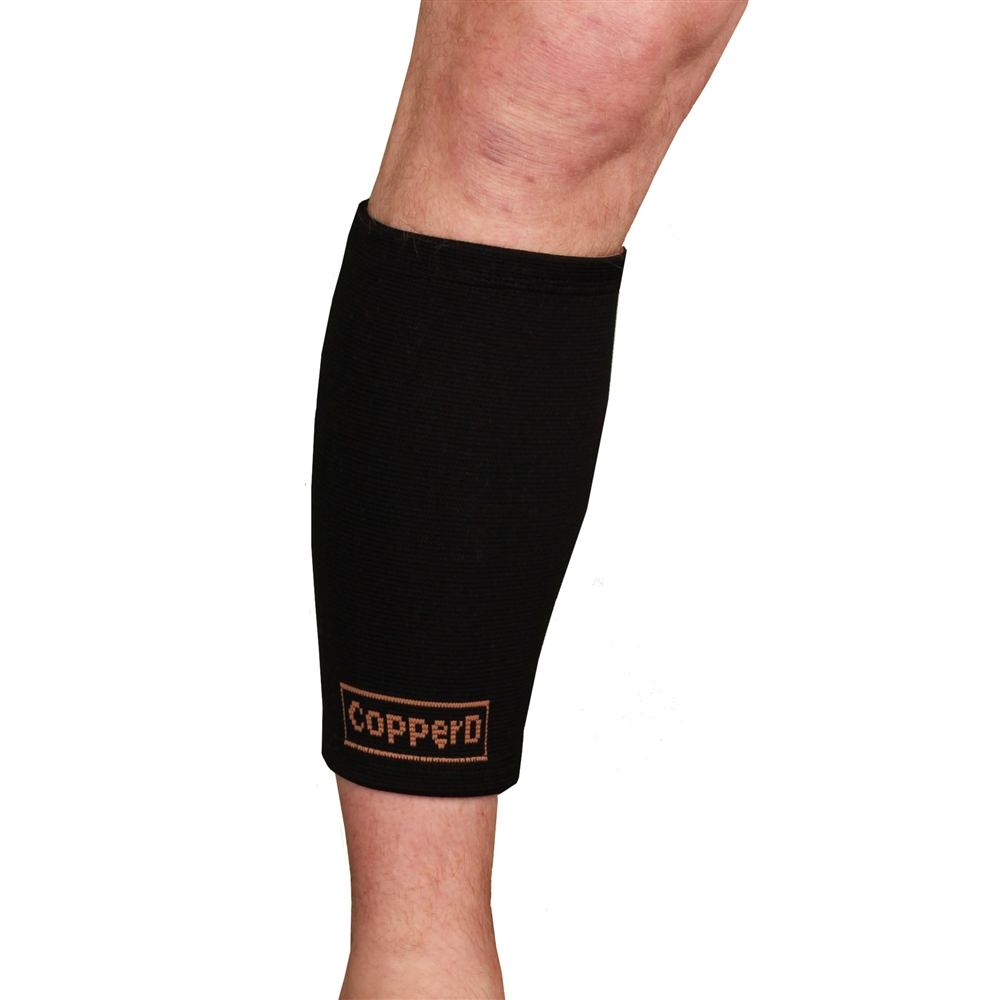 29b0b7f875 Copper Infused Compression Calf Sleeve Recovery Support Brace