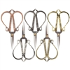 Embroidery Scissors with Decorative Cast Handles Classic Chinese Look