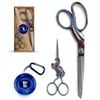 Two piece unicorn and heavy duty shear sewing set