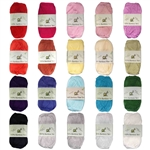 Super Fine Lace Weight 100% Rayon From Bamboo Yarn - 50g/skein style B665 - 2/10/30 Skeins Value Pack