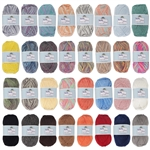 Soft and Slim Bamboo Wool Yarn - 50g/skein