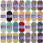 Chunky Melody 70% Wool Blend Yarn, Bulky - 100g/Skein - 2 Skeins