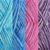 Polyester acrylic yarn fine weight yarn