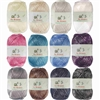 Polyester Acrylic Blend Yarn Worsted Weight