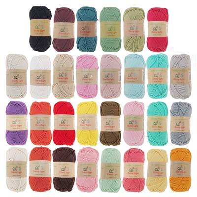 Dainty Light Cotton Yarn 100g
