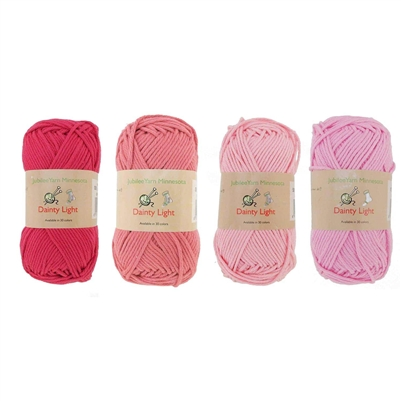 dainty light yarn