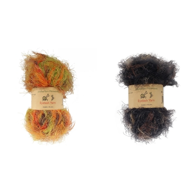 Fluffy Fun 100% Nylon Eyelash Yarn - 6 Skeins