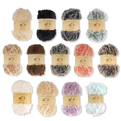 polyester fur yarn