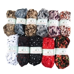 Assorted Ruffle Chiffon Ribbon Colors