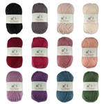 DK Worsted Weight Superwash Wool Yarn Blends