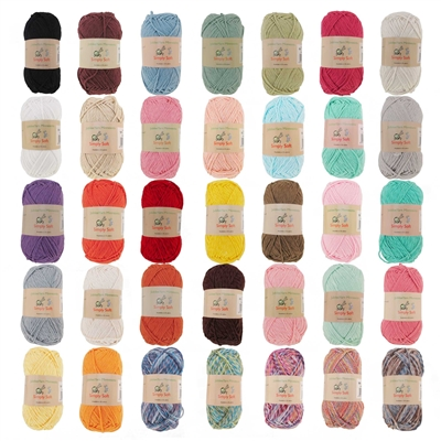Simply Soft Yarn 100g/skein