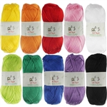 Soft Touch Yarns - Solids - 50g Regular Balls - Acrylic