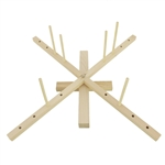 Bamboo Tabletop Amish Style Wooden Yarn Swift