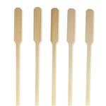 Premium Natural Finish Bamboo Arrow Pick Skewers, Party Supplies