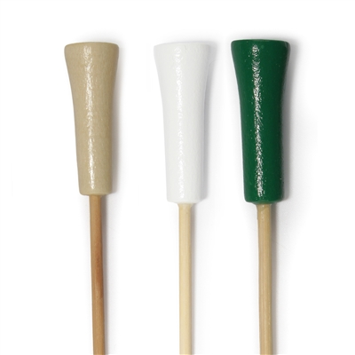 Decorative Premium Bamboo Golf Tee Picks Skewers, Party Supplies