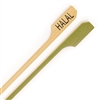 Halal Meat Marker Marking Bamboo Paddle Pick Skewers, Party Supplies