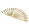 Wild Caught Food Marking Marker Bamboo Paddle Picks Skewers, Party Supplies