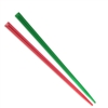 BambooMN Prism Picks - Christmas - Red, Green