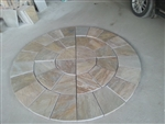 Circle of Peace and Harmony Mosaic Stones - 1 Unit