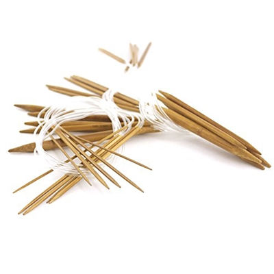 Circular Wooden Bamboo Knitting Needles