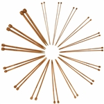 Single Point Bamboo Needles for Knitting