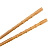 "BambooMN 9"" Ornate/Turned Bamboo Chopsticks Premium Grade"