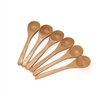 Small Bamboo Spice Spoon Round