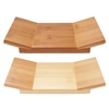"Bamboo Sushi Board/Serving Tray - Special Desgin - 8.3"" x 4.7"" x 1.2"""