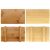 Bamboo Sushi Board Serving Tray, Rectangle Shape