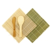 Sushi Rolling Kit - 2x rolling mats, 1x rice paddle, 1x spreader