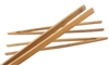 "12"" Reusable Bamboo Straight Arm Toast Tongs - Carbonized Brown"