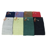 "Super Soft Golf Chef Sports Towel - 535 GSM 70% Rayon from Bamboo 30% Organic Cotton - 25"" x 16"""