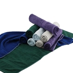 "535 GSM 70% Rayon from Bamboo 30% Organic Cotton - Bamboo Chef Gym Sports Towel - 48"" x 12"""