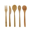 "BambooMN 8"" Bamboo Dinner Utensils"