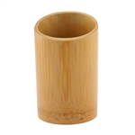 Wooden Bamboo Utensil Holder