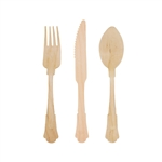 Disposable Wood Flatware Utensils