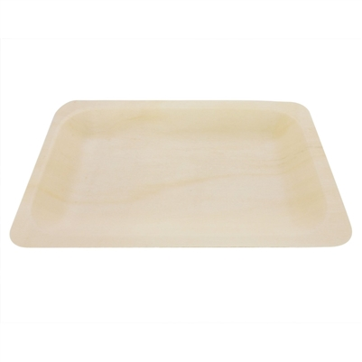 BambooMN Wood Rectangle Plates / Dishes